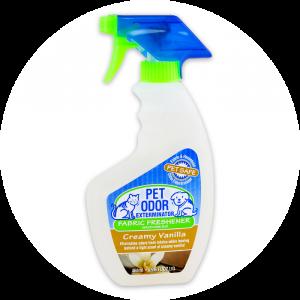 Creamy Vanilla Fabric Spray from Pet Odor Exterminator