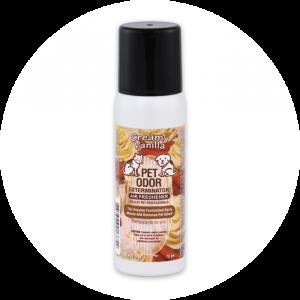 Creamy Vanilla Mini Spray from Pet Odor Exterminator