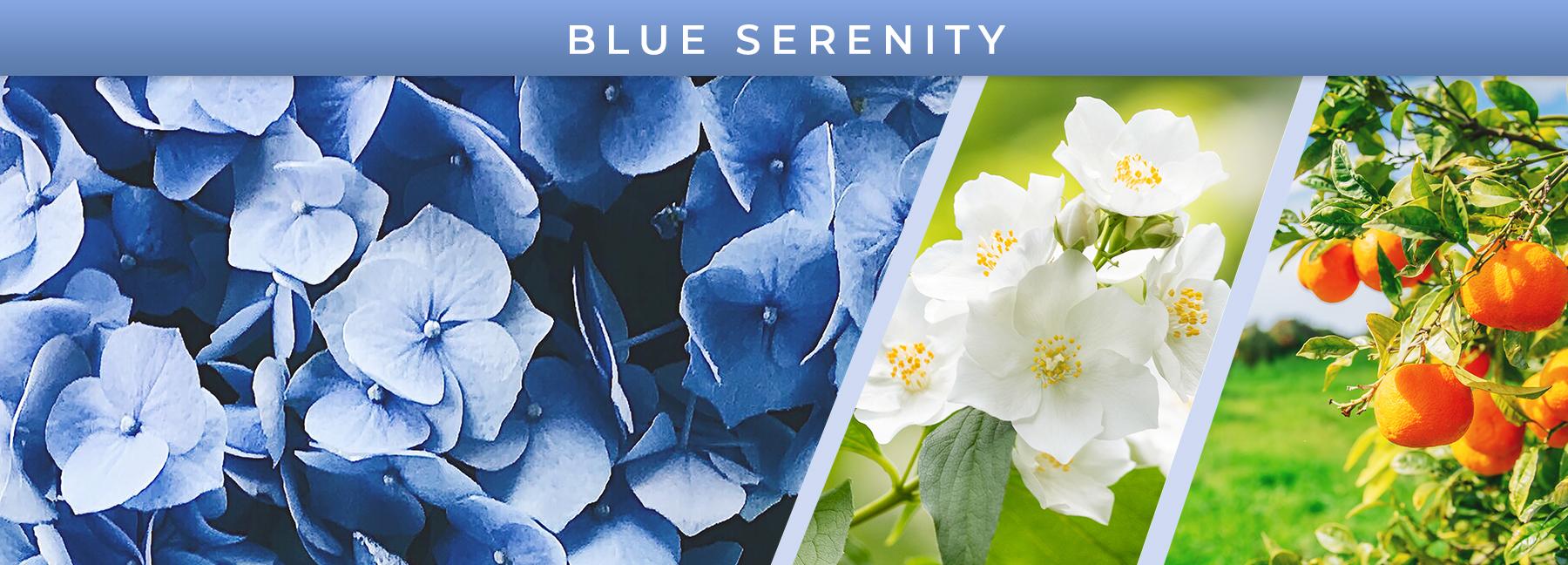 Blue Serenity™ fragrance elements