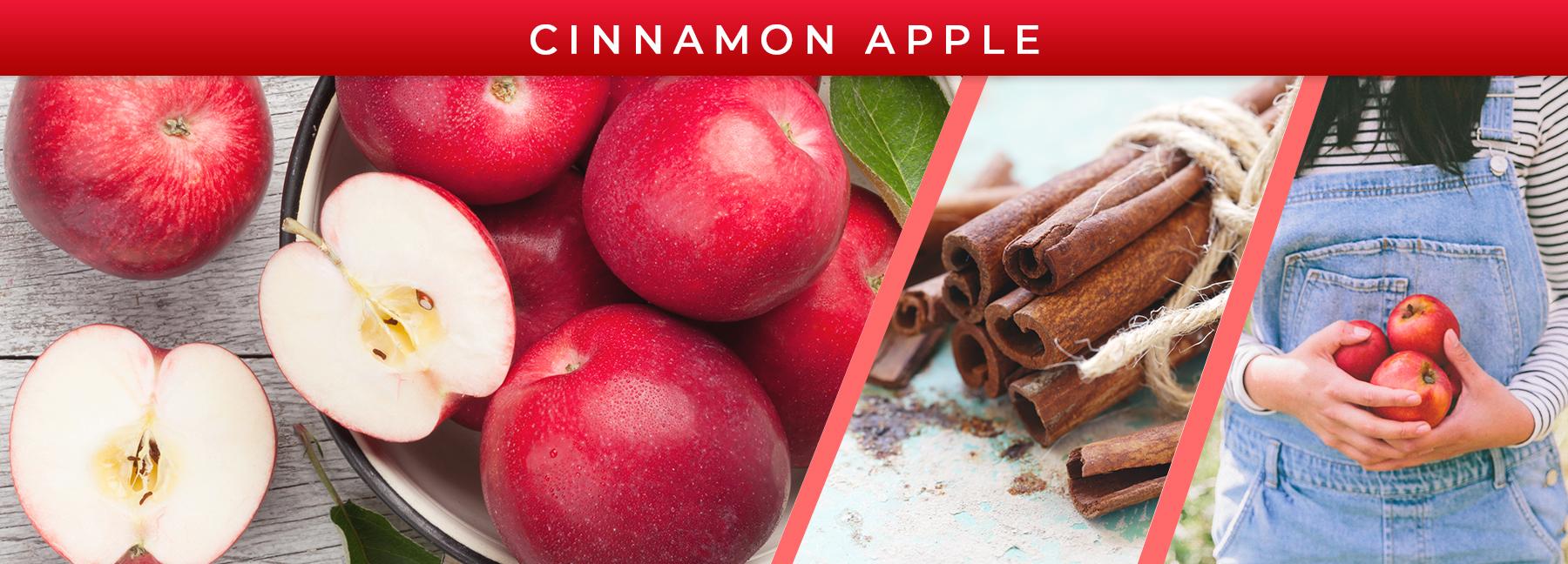 Cinnamon Apple fragrance elements