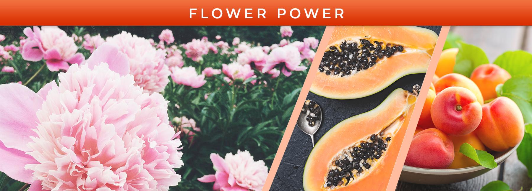 Flower Power fragrance elements