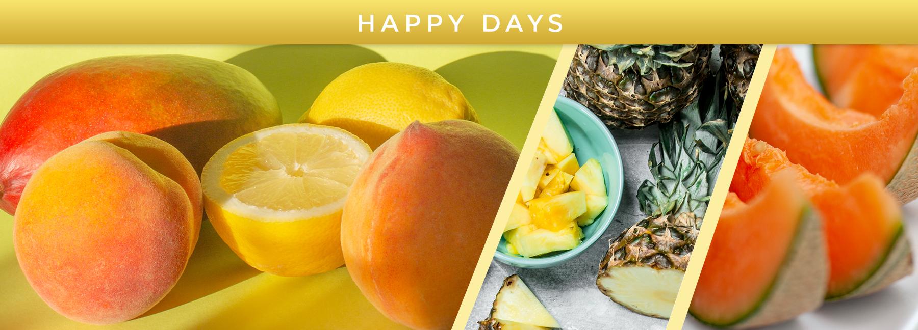 Happy Days fragrance elements