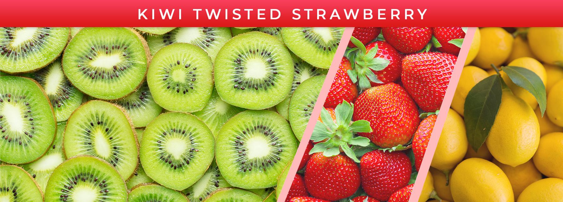 Kiwi Twisted Strawberry fragrance elements
