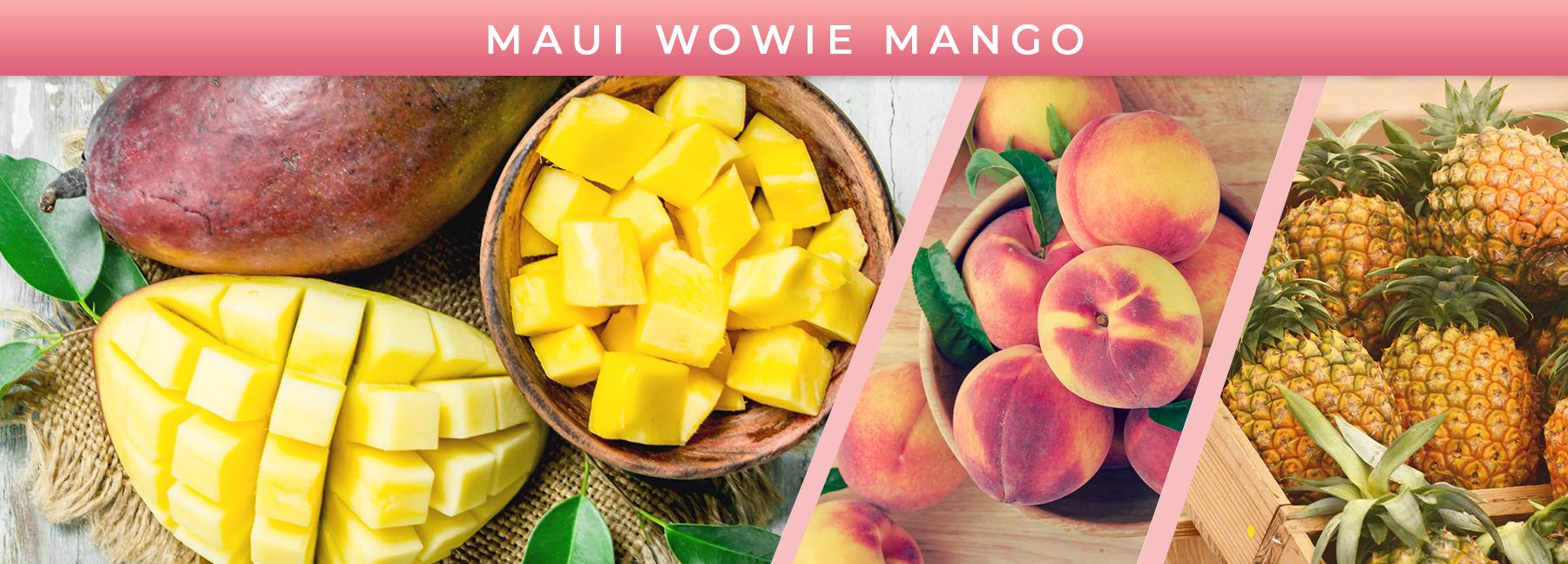 Maui Wowie Mango fragrance elements