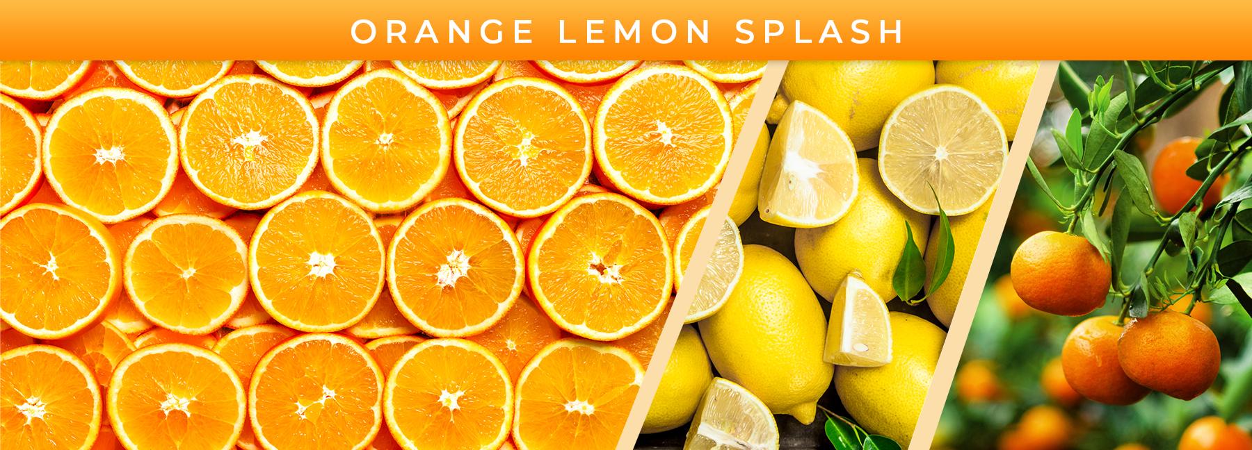 Orange Lemon Splash fragrance elements