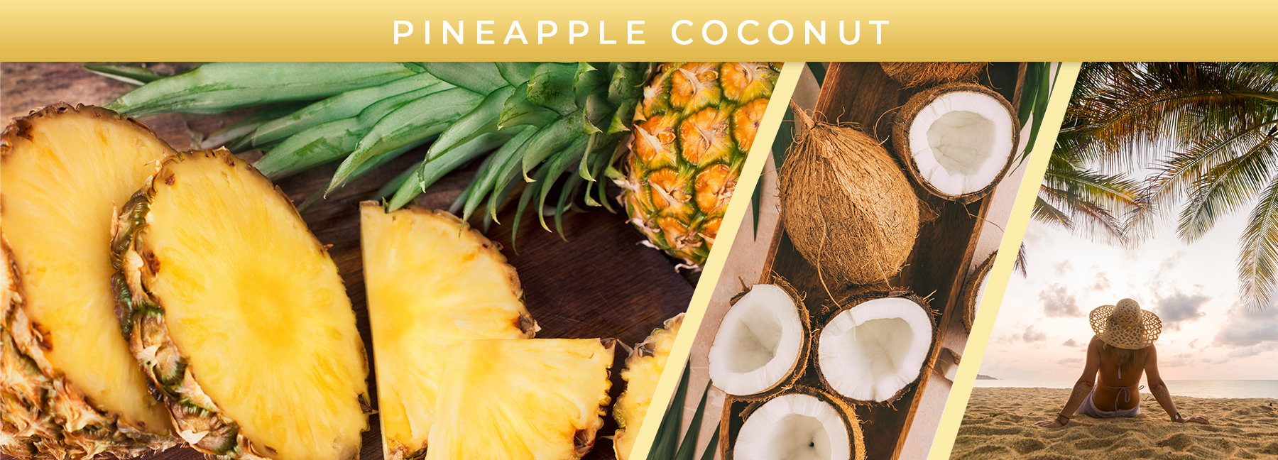Pineapple Coconut fragrance elements