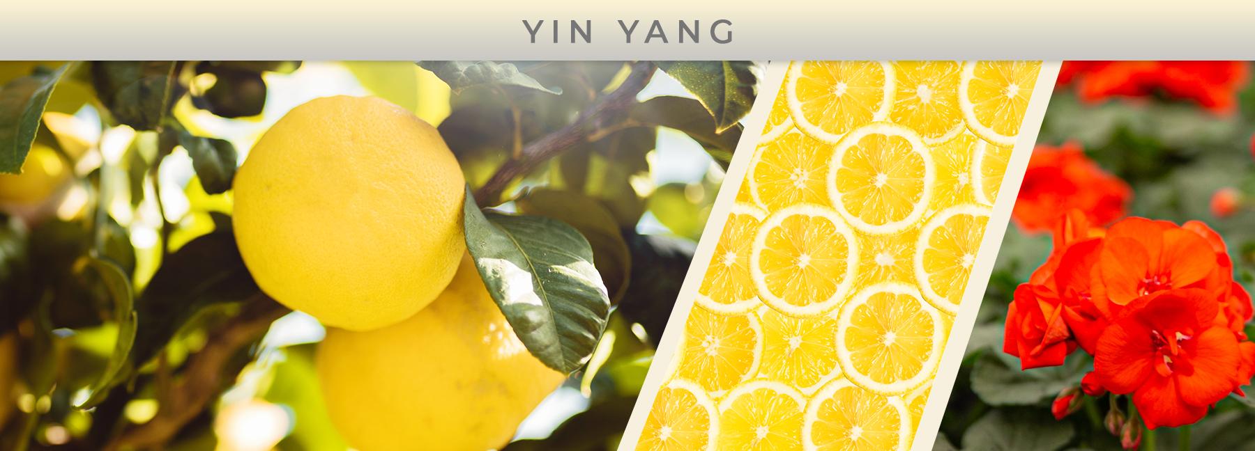 Yin Yang fragrance elements