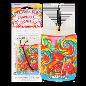 Lollipets Car Hanger from Pet Odor Exterminator