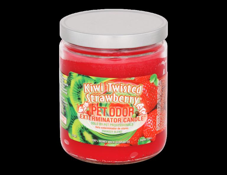 Kiwi Twisted Strawberry Candle