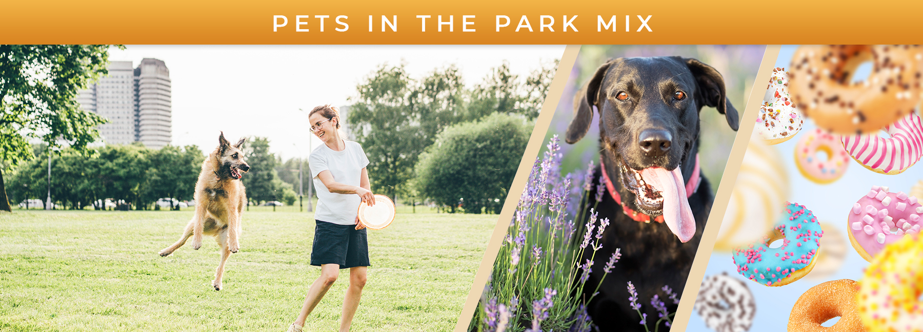Pets in the Park Mix fragrance elements