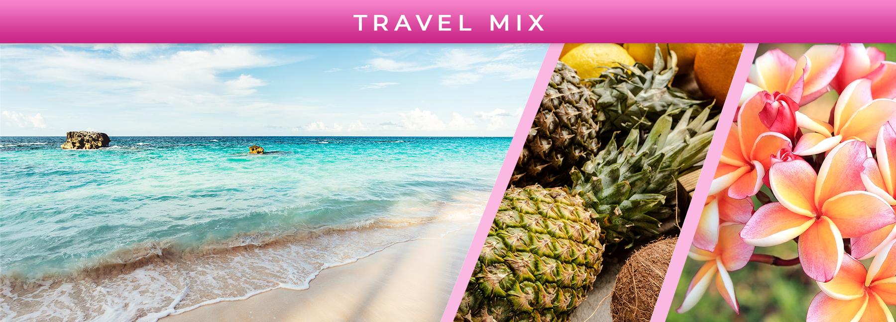 Travel Mix fragrance elements