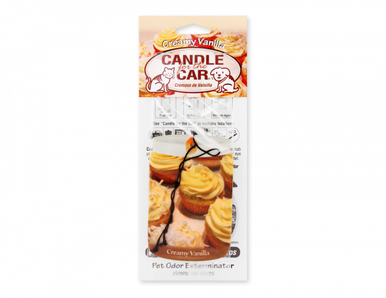 Creamy Vanilla Car Hanger