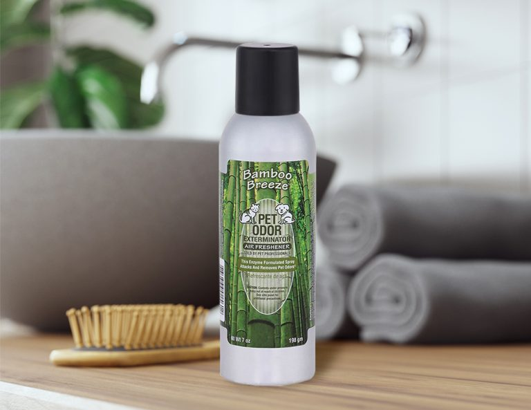 Bamboo Breeze 7oz Spray in bathroom